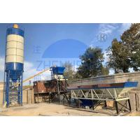Buy cheap HZS75 New Type Stationary Concrete Batching Plant / Concrete Mixing Plant product