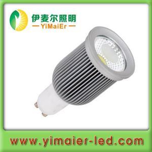 China Yimaier 2013 hot sale 9w cob led gu10.dimmable bulb gu10 led on sale