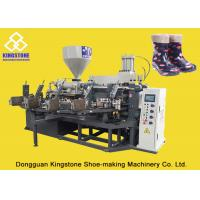 Buy cheap PVC Short Gum boots Injection Machine , Automatic Safety Shoe Making Machine  product