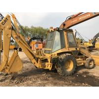China Caterpillar 416C Used Backhoe Loader CAT 3054 Engine 78HP Well Maintenance on sale
