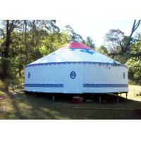 Buy cheap Traditional Mongolian Canvas Yurt Tent , Easy To Assemble Mongolian Style Tents from Wholesalers