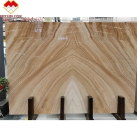 Buy cheap Bookmatch Mulge Earl Royal Wood Grain Marble Stone Slab product
