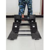 Buy cheap Electrophoretic Surface Coating Folding Tactical Ladder Special Hard Aluminum Alloy product