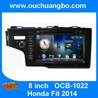 Buy cheap Ouchuangbo multimedia gps radio tape recorder Honda Fit 2014 with BT iPod CD brazil map product