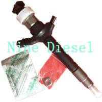 Buy cheap High Reliability Mitsubishi Diesel Fuel Injectors 095000-5600 1465A041 product