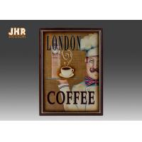Buy cheap Coffee Shop Wall Art Sign Decorative Wood Wall Plaques Antique Home Wall Decor product