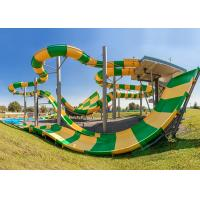 Anti - Static Water Park Slide High Mechanical Strength For Sports Park