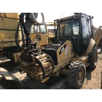China CAT 416E Timberbackhoe Wheel Loader Enclosed Cabin 2010 Year 3778 Work Hours on sale