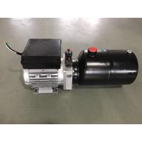 Buy cheap AC380V 0.75KW motor 2.1cc/r gear pump with 6L steel tank Hydraulic Power Unit for Dock Leveler product