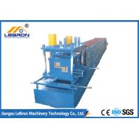 Buy cheap Full Automatic C&Z Purlin Forming Machine 16-18 Stations Servo Guiding Device product