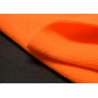 Buy cheap 100 Polyester Outdoor Stretch Fabric Polar Fleece Brushed Finishing product