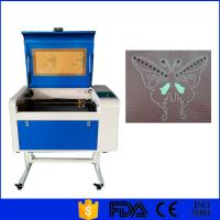 Buy cheap Glass CO2 Laser Engraver , Small Laser Engraving Machine 60W 80W 100W 150W product