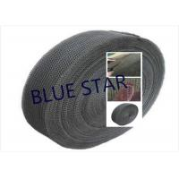 Buy cheap Pure Titanium Filter Knitted Mesh 0.2 / 0.25mm Wire For Sea Water Desalination / Air Filter product