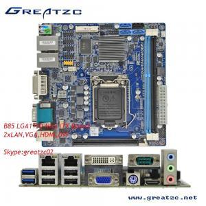 Custom Intel B85 Socket LGA1150 Motherboard For All In One Machine