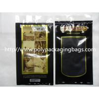 Buy cheap Moisturized System Cigar Humidor Bags Ziplock With Slider Easy Open And Close product