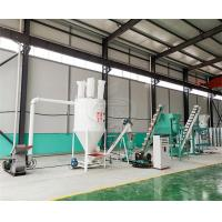 Buy cheap Small Cattle Feed Pellet Production Line Compact Structure For Livestock Farms product