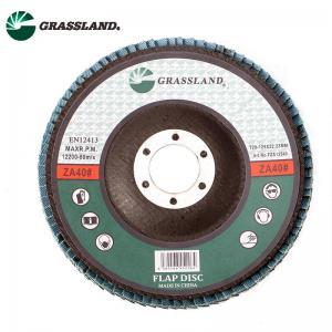 "Buy cheap Metal Stainless Steel Sanding 125mm 5"" Zirconium Flap Disc Wheel product"