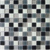 hand-painted crystal tile for wall & floor decoration