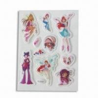 Buy cheap Foam and PVC Stickers, Suitable for Decoration, Customized Designs are Accepted product