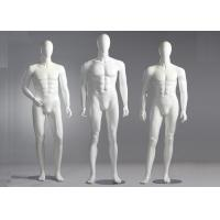 Buy cheap Fiberglass Male Standing / Seating Full Body Mannequin For Clothes Shop product