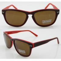 Buy cheap Vintage Full Frame Oval Polarized Sunglasses With CR39 Lens product