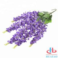 Buy cheap Indoor / Outdoor Artificial Green Plants Silk Hanging Wedding Decoration For Home And Restaurant product