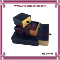 Buy cheap Custom design earring boxes paper drawer box paper packing ME-DR003 product