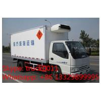 Buy cheap T-King gasoline and CNG refrigerated truck for sale, Hot sale T-king brand gasoline-CNG cold room truck for frozen food product