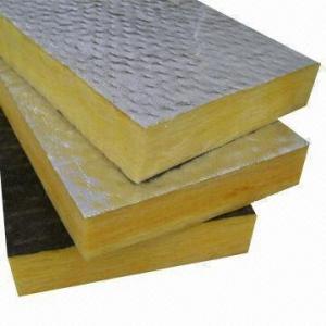 China Fiberglass Wool Board with Aluminum Foil on sale
