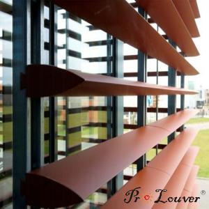 Hot sale deluxe Aerobrise sun louvers, architectural exterior sun louver