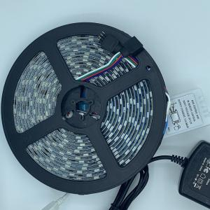 China IP65 30W 12V 5M RGB LED Strip Light on sale