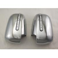 Buy cheap Pair Silver Side Door Mirror Cover With LED Signal Light For Mitsubishi Triton L200 2005 - 14 product