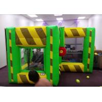 Buy cheap Indoor Outdoor Inflatable Interactive Games / Inflatable Dunk Tank System For Kids product