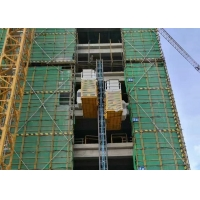 Buy cheap TUV Rack Pinion Lift 450m Construction Site Elevator product