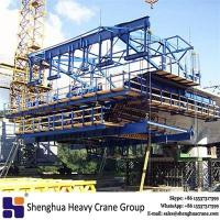 China Chinese 450t travel form traveller bridge free cantilever construction method building machine on sale