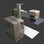 Buy cheap Sliver Mini Mopa Fiber Laser Marking Machine 20W 30W 50W Power product