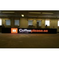 Buy cheap High Color Contrast 16dots * 16dots Waterproof Perimeter LED Advertising Boards Screen product