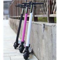 Buy cheap 250W 24V Carbon Fiber Electric Scooter Two Wheel Mini Electric Scooter product