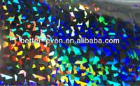 Buy cheap PVC PP PE Holographic Foil Printing , Christmas Cards Silver Laminated Paper product