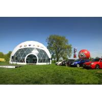 Buy cheap 20m diameter geodesic dome tent with waterproof  PVC fabric for event and party from Wholesalers
