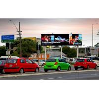 Buy cheap Full Color Waterproof Led Billboard Advertising , Outdoor Led Video Wall 110V / 60HZ product