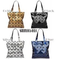 Buy cheap WHOLESALES fashion handbag Geometric Ladies shopper Bag Glossy design Women Tote Shoulder Bag customized bag supplier product