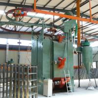 Buy cheap Heavy Duty Shot Blast Cleaning Equipment Single Hook Type For Forging Parts product
