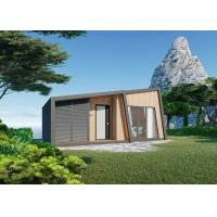 China Art Villa Prefab Modular House , Waterproof Thailand Resort Beach House on sale