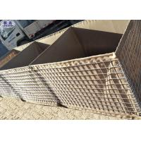 Buy cheap Anti Blast Wall Welded Wire Mesh , Hesco Barrier Wall For River Flood Protection product