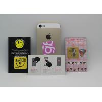 Buy cheap Customize Adhesive Microfiber Screen Cleaner Sticker For Cell Phone / Display product