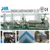 Buy cheap High impact PMMA plastic acrylic sheet extruding machine product