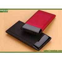 Buy cheap Super Slim Mobile Power Supply Portable Power Bank 10000mAh , Red Black BLue product