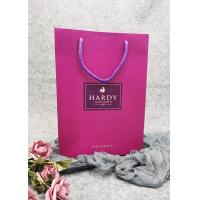 Buy cheap High Grade Thick Paper Wine Gift Bags Custom Recycled Paper Bags With Logo product