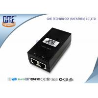 Buy cheap 12v 800MA POE Power Adapter Black Ethernet Power Adaptor 47Hz - 63Hz product